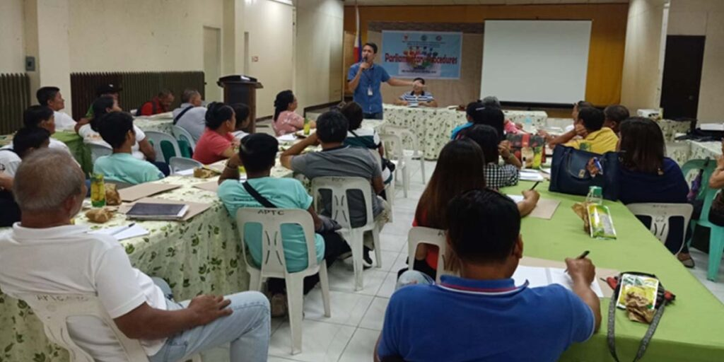 OPAg facilitated training on Parliamentary Procedure for Micro Cooperatives
